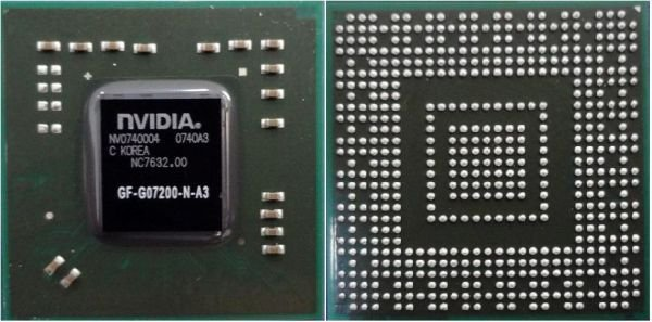 CHIPSET BGA NF-GO7200-N-A3 REFURBISHED