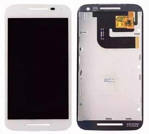 Tela Frontal Display Lcd Frontal Tela Touch Moto G3