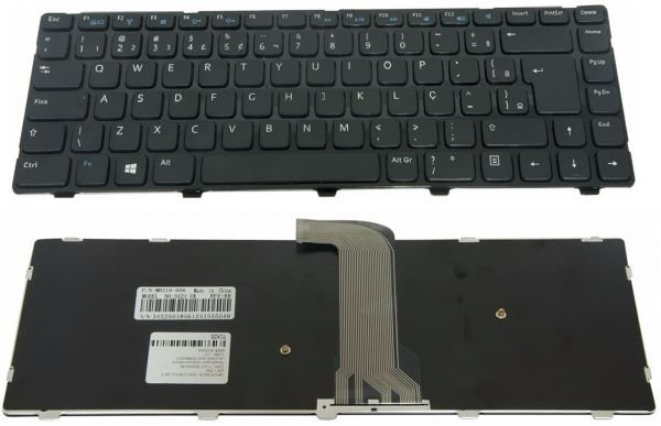 Teclado Dell Inspiron 14 2620 3421 5421 P37G Br Com Ç V137225AR1