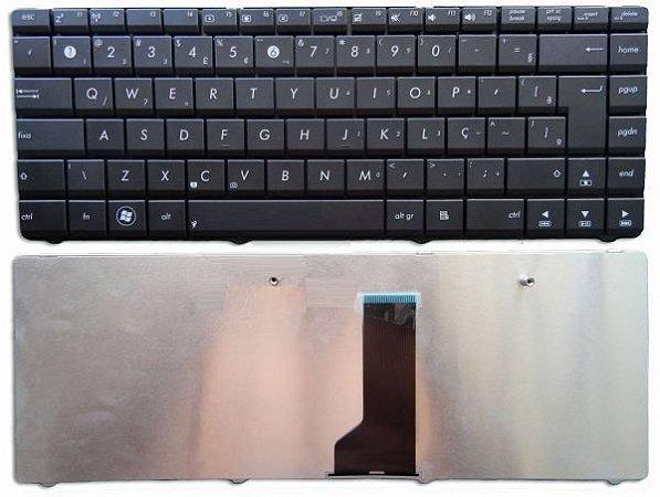 Teclado Notebook Asus K43u X430 X43u Br Novo - Com Fixador