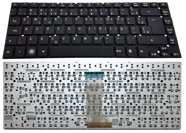 Teclado Acer Aspire Es1-511 Es1-421 Es1-411 E1-432 Br 3830t Gateway Nv47 Nv47h Aezq0601010 Cód:708