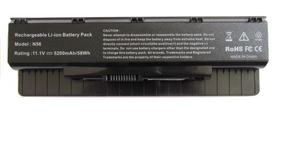 Bateria Notebook Asus A32-n56 | 4400mah Preto