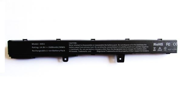 Bateria Notebook Asus A31n1319 X451 X451m X451ma X551