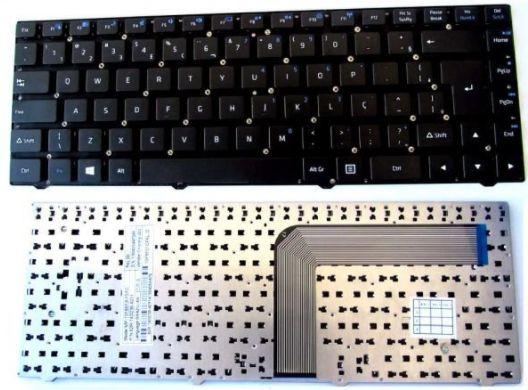 Teclado Notebook Philco 14f Com Funções Br C/ Ç   e   Positivo S1990
