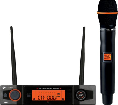 K481M Kadosh - Sistema UHF de Microfone sem Fio