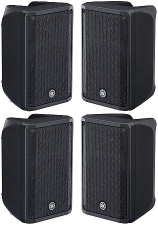 Caixa de Som Ativa 700W DBR10 - Yamaha - 4 unidades