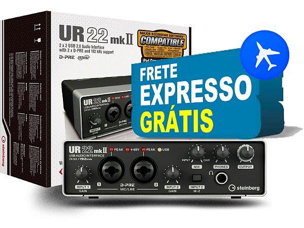 Interface de Audio UR22MKII - Steinberg