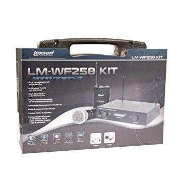 Sistema Microfone Sem Fio LM-WF258 Kit - Lexsen