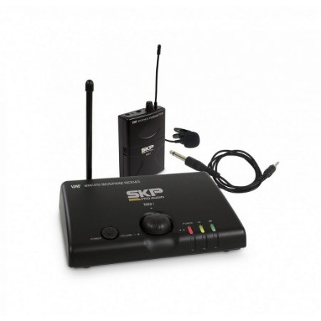 Sistema Microfone sem Fio Lapela UHF Mini-III - SKP