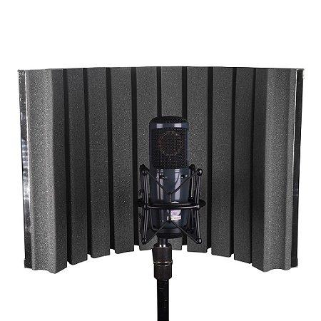 Painel Difusor Acústico Para Microfone Skp Rf-30 Studio