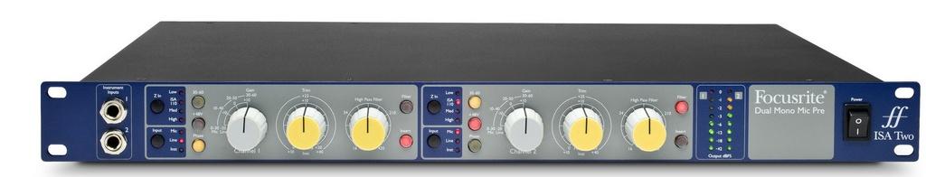 Pré-amplificador Focusrite Isa Two
