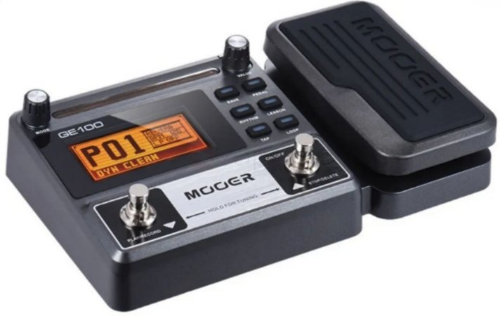 Mooer GE100 – Pedaleira Multi-Efeitos para Guitarra