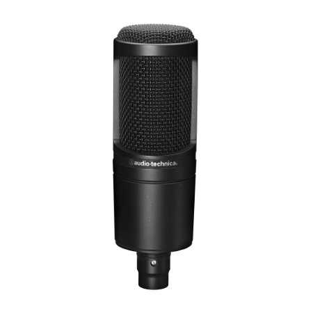 AUDIO-TECHNICA AT2020 - MICROFONE CONDENSADOR CARDIÓIDE