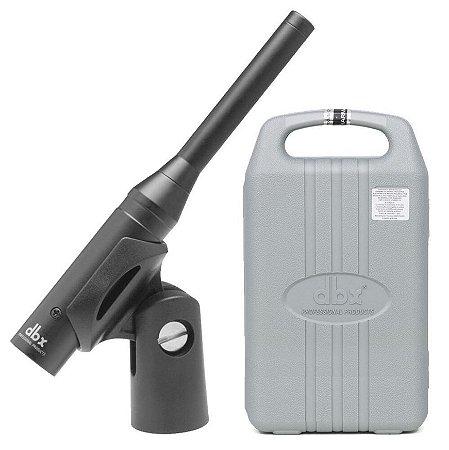 DBX RTA-M - Microfone Condensador Profissional de Medição