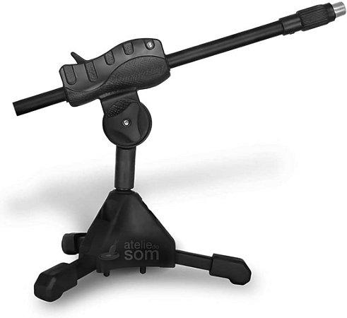 Suporte Pedestal para Microfone de Mesa SMMSB - IBOX