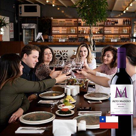 ALTO MADERO RESERVA MALBEC 750ML - CHILE