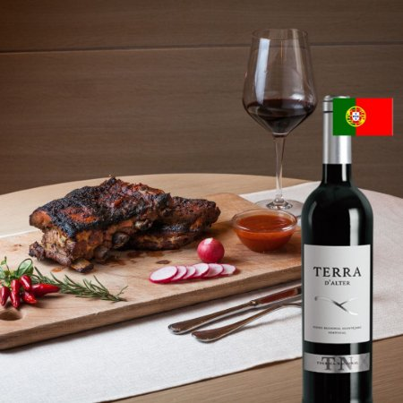 TERRA D´ALTER TOURIGA NACIONAL 750ML - PORTUGAL