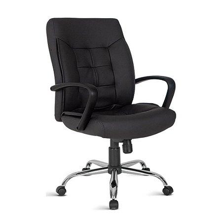 Cadeira para Escritório Diretor Linha Gênova Preto