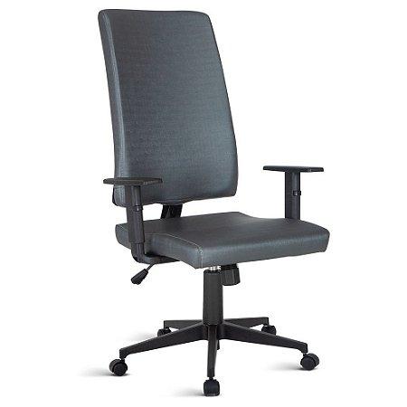 Cadeira para Escritório Presidente Linha Torino Azul Marinho