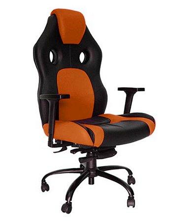 Cadeira Gamer para Escritório Linha Gamer Racing Laranja