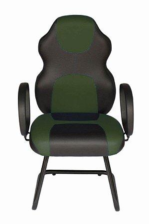 Cadeira Gamer Interlocutor Linha Gamer Racing Verde