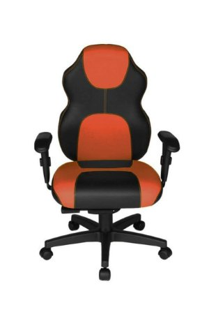 Cadeira Gamer Diretor Linha Gamer Racing Laranja