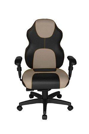 Cadeira Gamer Diretor Linha Gamer Racing Bege