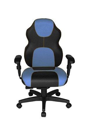 Cadeira Gamer Diretor Linha Gamer Racing Azul