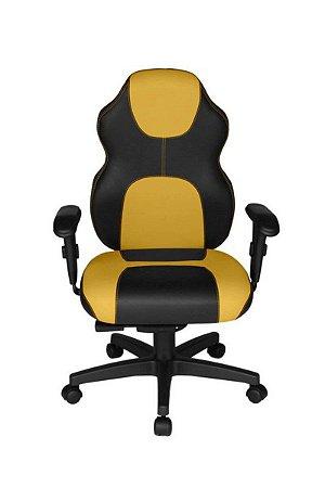 Cadeira Gamer Diretor Linha Gamer Racing Amarelo