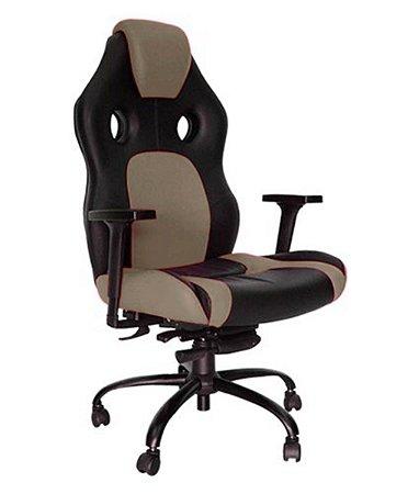 Cadeira Gamer para Escritório Linha Gamer Racing Bege