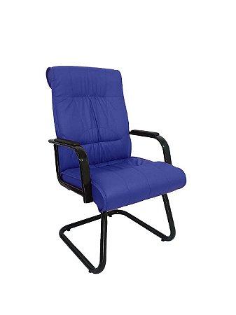 Cadeira Interlocutor para Escritório Linha Itália Azul