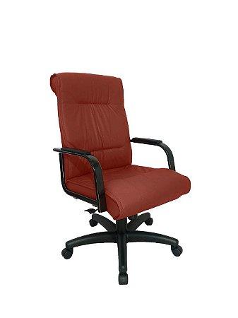Cadeira Diretor para Escritório Linha Itália Vermelho