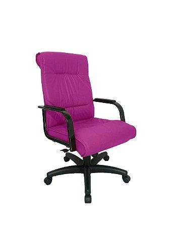 Cadeira Diretor para Escritório Linha Itália Rosa