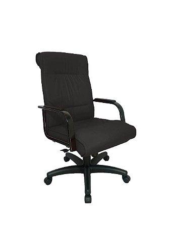 Cadeira Diretor para Escritório Linha Itália Preto