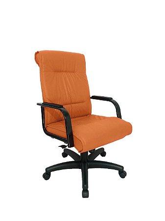 Cadeira Diretor para Escritório Linha Itália Laranja