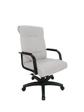 Cadeira Diretor para Escritório Linha Itália Branco