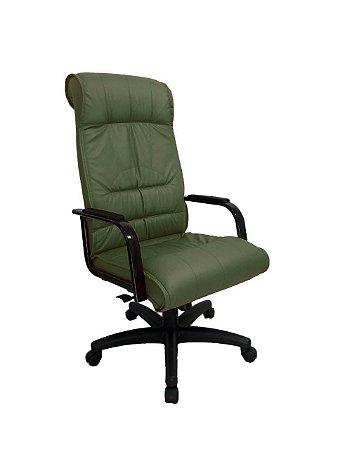 Cadeira Presidente para Escritório Linha Itália Verde