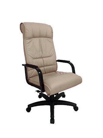 Cadeira Presidente para Escritório Linha Itália Bege