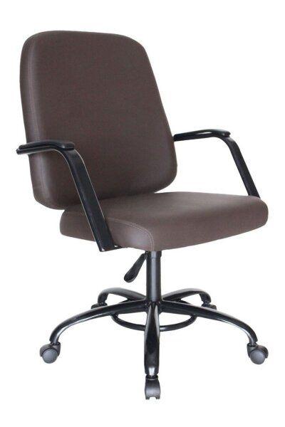 Cadeira para Escritório para Obesos até 200kg Marrom