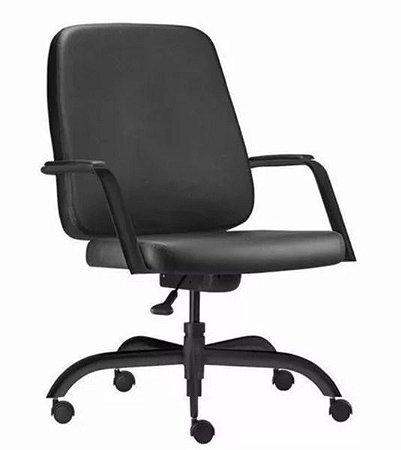 Cadeira para Escritório e Home Office para Obesos até 200kg Preto