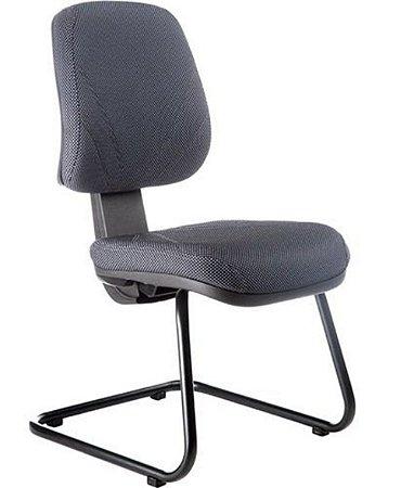 Cadeira Executiva Base Fixa em S Linha New Confort Preto