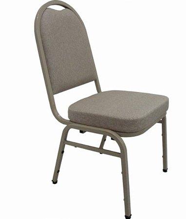 Cadeira Empilhável para Auditórios Linha Hotel Cinza