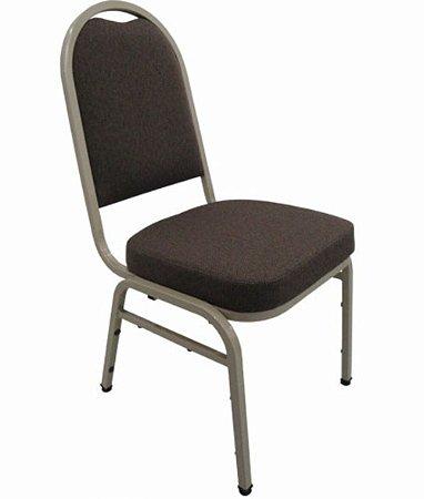 Cadeira Empilhável para Auditórios Linha Hotel Preto