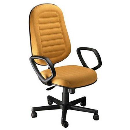 Cadeira Presidente com Braços Linha Blenda Amarelo