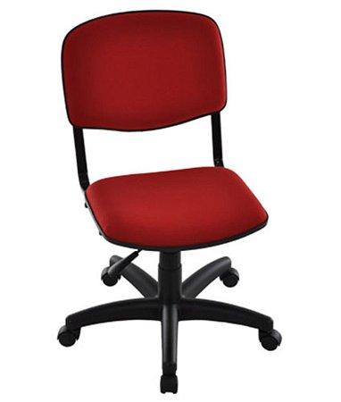 Cadeira Giratória para Auditórios Linha Hotel Auditório Cor Vermelho