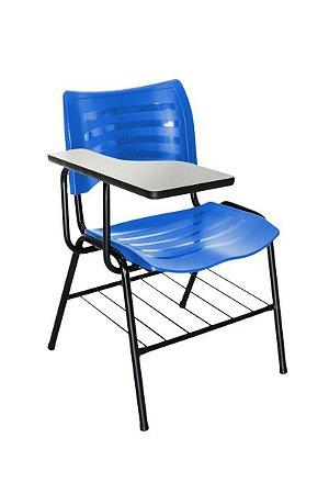 Cadeira Iso Linha Polipropileno Iso Universitária Azul