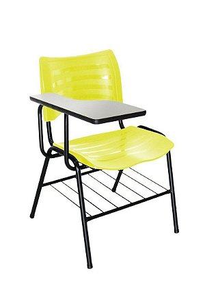 Cadeira Iso Linha Polipropileno Iso Universitária Amarelo