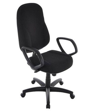 Cadeira Presidente com Braços Linha Classic Preto