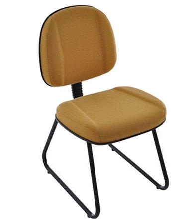 Cadeira Gerente com Base Fixa Trapézio Linha Classic Amarelo