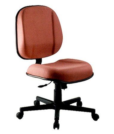 Cadeira Diretor sem Braços Linha Classic Vermelho